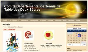comité Tennis de Table 79