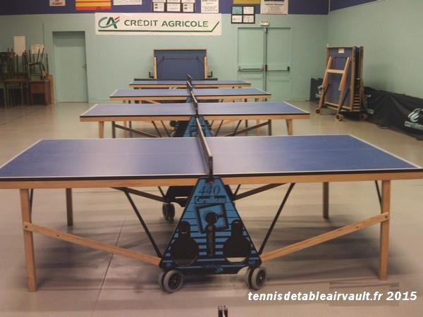 salle de tennis de table d'Airvault