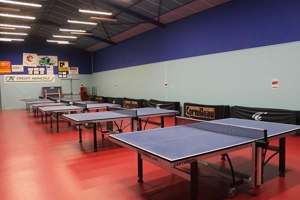 salle d'entraînement et compétition
